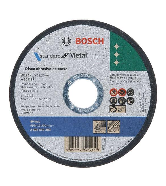 DISCO BOSCH 115*1MM METAL STANDARD 619383