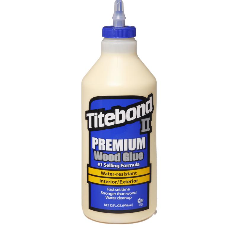 TITEBOND II PREMIUM 1/4 GALON 946ML. COLA PROFESIONAL PARA EXTERIORES